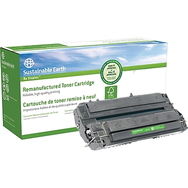 Sustainable Earth by Staples Reman Black Toner Cartridge, Canon FX-4 (SEBFX4R)