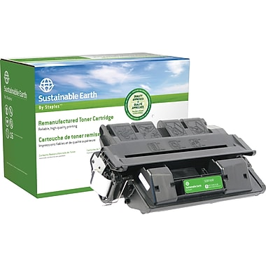 Sustainable Earth by Staples Reman Black Toner Cartridge, Canon FX-6 (SEBFX4R)