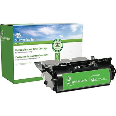 Sustainable Earth by Staples Reman Black Toner Cartridge, IBM InfoPrint 1532 (SEBI6960R)