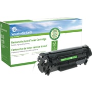 Staples® Sustainable Earth Reman Black Toner Cartridge, Canon 104 (SEB0263R)