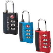 Samsonite® 3 Dial Travel Sentry Combination Locks