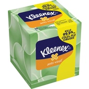 Kleenex® 3-Ply Anti-Viral Facial Tissues 68 Sheets/Box 27/Case (25836)