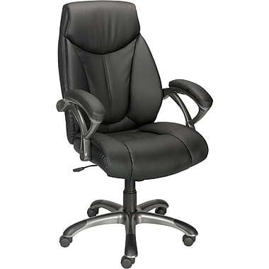 31d91259d Staples® High Back Bonded Manager s Chair
