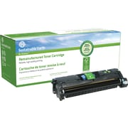 Sustainable Earth by Staples® Remanufactured Cyan Laser Toner Cartridge, HP 121A/122A/123A (C9701A/Q3961A/Q3971A)