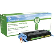 Sustainable Earth by Staples® Remanufactured Toner Cartridge, HP 124A (SEB2600YR), Yellow