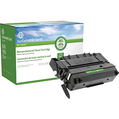 Sustainable Earth by Staples Reman Black Toner Cartridge, Panasonic UG3313 (SEB3313R)