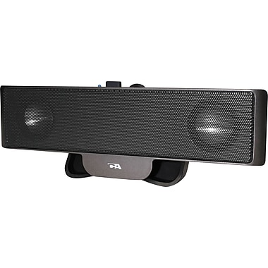 Cyber Acoustics - Haut-parleurs portatifs CA-2880 - alimentation par USB