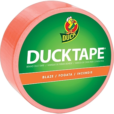 Colour Duck Tape® Brand Duct Tape, Blaze Orange