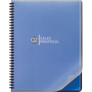GBC ClearView® Presentation Covers, Premium Frost, 25 pieces