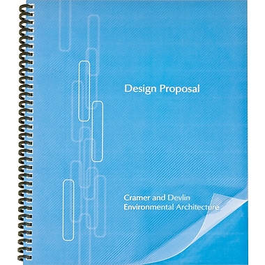 GBC ProClick Binding Presentation Covers, Letter, 25 Pack, Clear