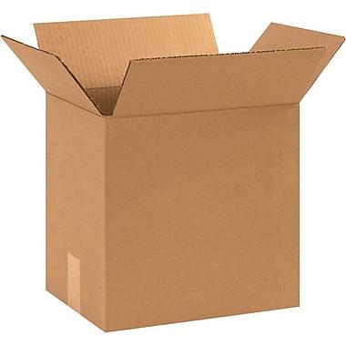 12.25''x9.25''x12'' Standard Corrugated Shipping Box, 200#/ECT, 25/Bundle (12912R)