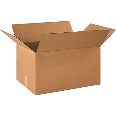 Boîtes en carton ondulé, 21 po x 14 po x 14 po, 15/lot