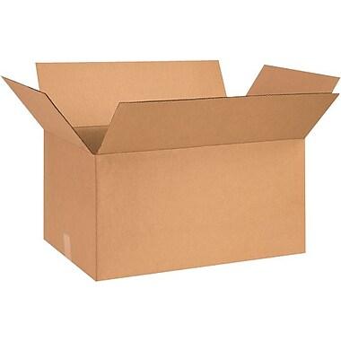 26''x15''x12'' Standard Corrugated Shipping Box, 200#/ECT, 20/Bundle (261512)