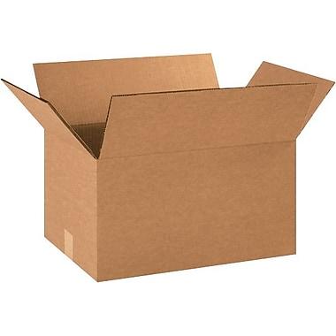 18''x12''x10'' Standard Shipping Box, 275#/ECT, 15/Bundle (HD181210DW)