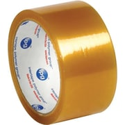 "Natural Rubber Tape, 1.7 Mil, 2"" x 55 yds., Clear, 36/Case"