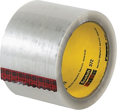3M #372 Hot Melt Packing Tape, 3