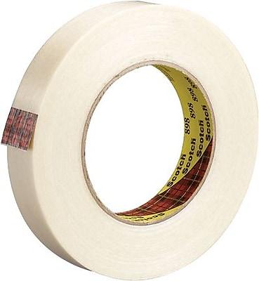 Scotch® #898 High Performance Grade Filament Tape, 3/4
