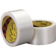 "Scotch® #8959 Bi-Directional Filament Tape, 2"" x 55 yds., 3/Pack"