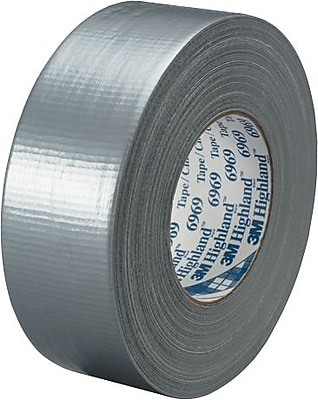 3M™ #6969 Duct Tape, Silver, 2