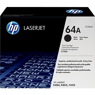 HP 64A (CC364A) Black Original LaserJet Toner Cartridge