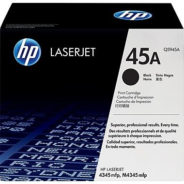 HP 45A (Q5945A) Black Original LaserJet Toner Cartridge