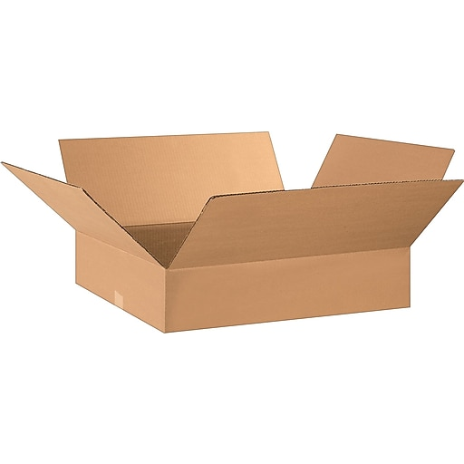 "28"" x 17"" x 5"" Shipping Boxes, 32 ECT, Brown, 20/Bundle (BS281705)"