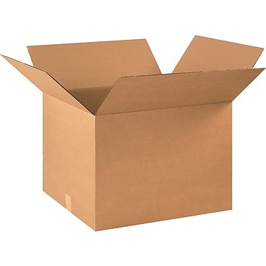 Boîtes en carton ondulé, 22 po x 18 po x 16 po, lot de 15