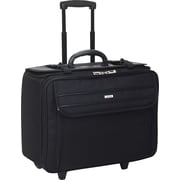 Solo Classic Rolling Catalog Laptop Case, Black (B151-4)