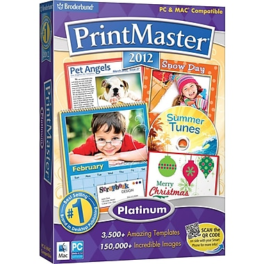 Printmaster 2012 Platinum for Windows (1-User) [Boxed]