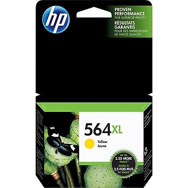 HP 564XL Cartouche d'encre jaune à rendement élevé d'origine (CB325WN)