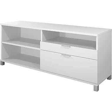 Bestar Pro Linea Collection Credenza, White