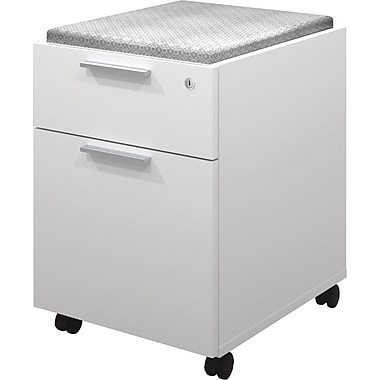 Bestar – Caisson mobile de la collection Pro Linea, blanc