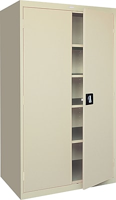 Interior 24 Cabinet sandusky large capacity storage cabinet 78h x 36w 24d putty 78