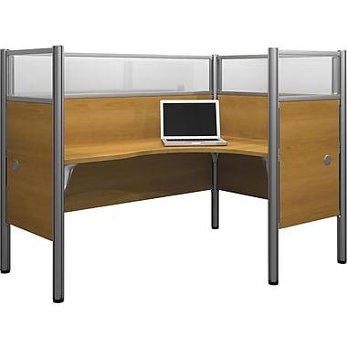 Bestar – Poste de travail simple, bureau en L à droite, du système de bureau