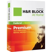 H&R Block At Home™ Premium + State 2011 for Windows and Mac [Boxed CD]