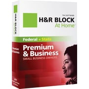 H&R Block At Home™ Premium & Business + eFile + State 2011 for Windows [Boxed CD]