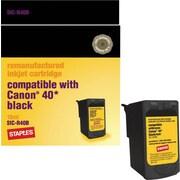 Staples® - Cartouche d'encre noire remise à neuf, Canon PG-40 (SIC-R40B)