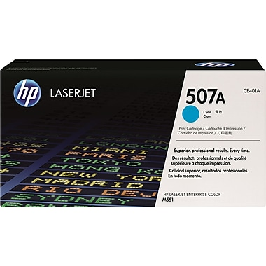 HP 507A (CE401A) Cyan Original LaserJet Toner Cartridge