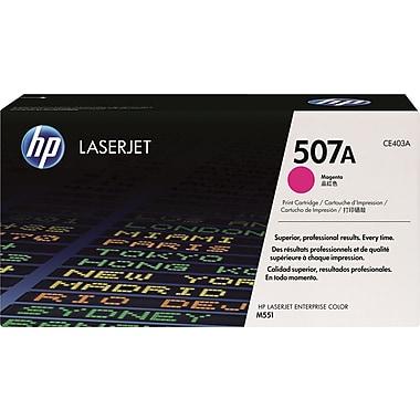 HP 507A (CE403A) Cartouche de toner HP LaserJet magenta d'origine