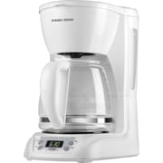 Black & Decker® 12-Cup Programmable Coffee Maker, White