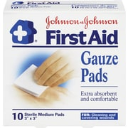 Johnson & Johnson First Aid Gauze Pads