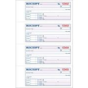 "Adams Carbonless Receipt Book, 11"" x 8"", 3-Part, 100 Sets/Book (TC1182)"