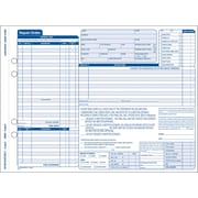 "Adams® Garage Repair Form, 11-7/16"" x 8-1/2"", 3 Part"