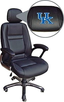 Wild Sports NCAA Leather Executive Chair, Kentucky Wildcats