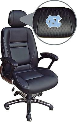 Wild Sports NCAA Leather Executive Chair, North Carolina Tar Heels