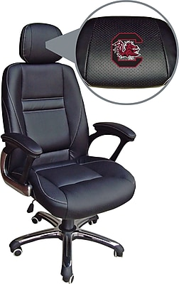 Wild Sports NCAA Leather Executive Chair, South Carolina Gamecocks