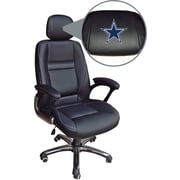 Wild Sports NFL Leather Executive Chair, Dallas Cowboys