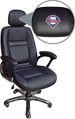 Wild Sports MLB Leather Executive Chair, Philadelphia Phillies