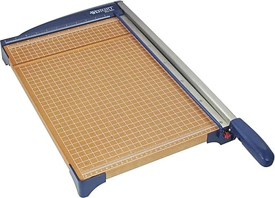 Westcott Wood Guillotine Paper Trimmer, 15