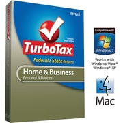TurboTax Home & Business Fed + Efile + State 2011 for Windows and Mac [Boxed CD]